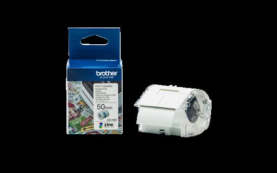 Ruban d'étiquettes tout-en-couleur Brother CZ-1005, 50 mm de large