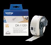 Rotolo di etichette originale Brother DK-11201 – Nero su bianco, 29 mm x 90 mm