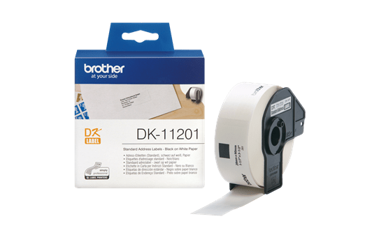 DK-11201 étiquettes d'adressage standard 3