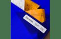 Original Brother DK11203 label til arkivmapper– sort på hvid, 17 mm x 87 mm 2