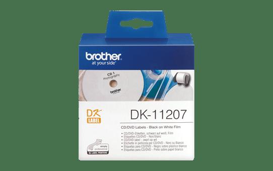 DK-11207 étiquettes CD/DVD
