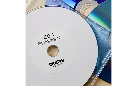 DK-11207 étiquettes CD/DVD 2