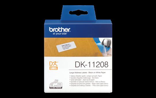 Originalna Brother DK-11208 rola za označavanje