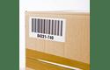 Original Brother DK-11209 udstansede adresse labelrulle – sort på hvid, 29 mm x 62 mm 2