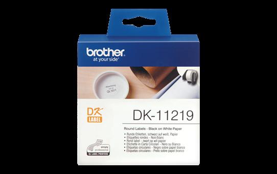 DK-11219 étiquettes rondes