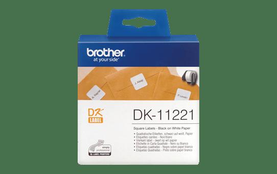 DK-11221 étiquettes carrées