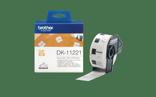 DK-11221 étiquettes carrées 3