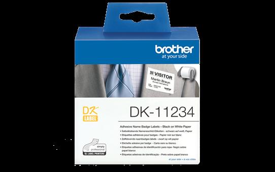 DK-11234 - sort på hvid