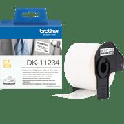 DK11234-nimikorttitarran pakkaus ja rullatarra