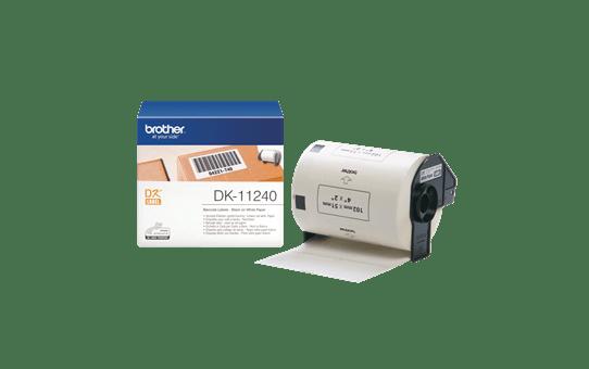 Originele Brother DK-11240 voorgestanst barcode label - papier – zwart op wit, 102 mm x 51 mm 3