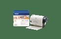 Oriģināls Brother DK-11240 marķēšanas lentes rullis melnas drukas balts, 102mmx51mm 3