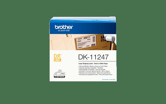 DK-11247 grandes étiquettes d'expédition