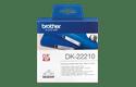 Eredeti Brother DK-22210 szalag tekercsben – Fehér alapon fekete, 29mm széles