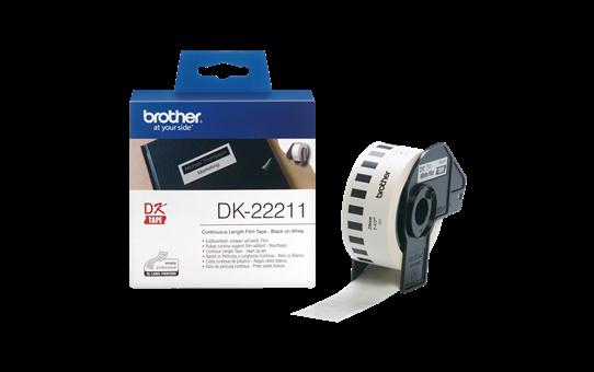 DK-22211 ruban continu film plastique blanc 29mm 3