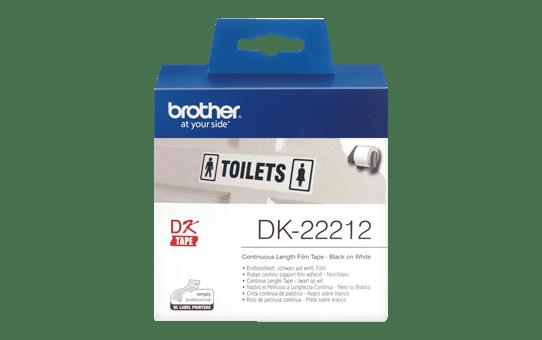 DK-22212 ruban continu film plastique blanc 62mm