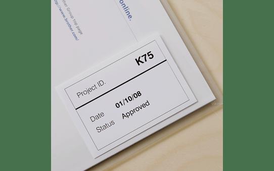 DK-22212 ruban continu film plastique blanc 62mm 2