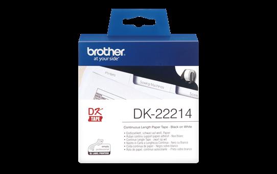 Originalna Brother DK-22214 rola s kontinuiranim poliestarskim naljepnicama