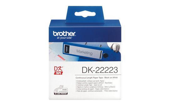 Originele Brother DK-22223 labels