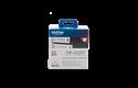 Originele Brother DK-22251 doorlopende labelrol -  papier – zwart en rood op wit, breedte 62 mm