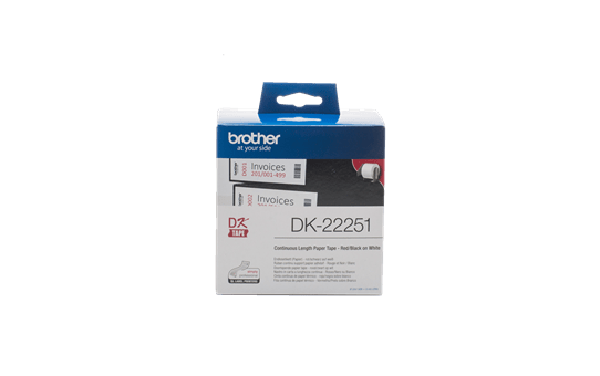 Originalna Brother DK-22251 rola s kontinuiranim papirnim naljepnicama