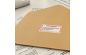 Originele Brother DK-22251 doorlopende labelrol -  papier – zwart en rood op wit, breedte 62 mm 2