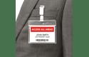 Brother DK-22251 Rotolo di etichette a lunghezza continua originale  – Nero e rosso su bianco, 62 mm 2