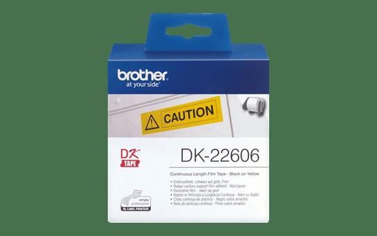 Originalna Brother DK-22606 rola s kontinuiranim poliesterskim naljepnicama 2