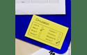 DK-44605 doorlopende rol verwijderbaar geel papier 62mm 2