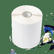 White label roll for TD label printer