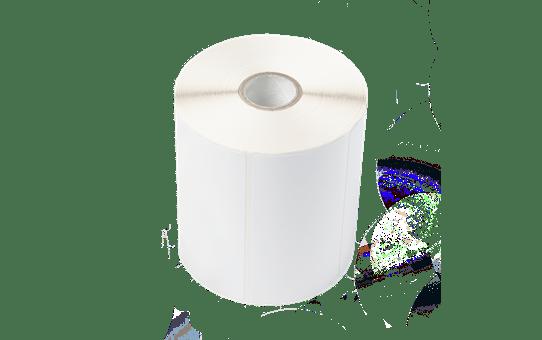 BCS1J074102121 etikettrull med belagte etiketter i fast format for termisk overføring