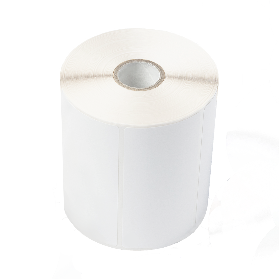 Uncoated label roll