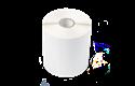 BUS-1J150102-121 rolă de etichete albe pre-tăiate simple pentru transfer termic