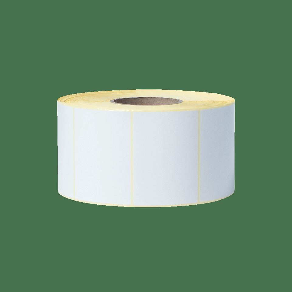 BCS1J074102203 rola bijelih naljepnica-prozirna pozadina-sprijeda