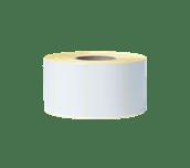 Išskirtinės kokybės dengtas iš anksto sukarpytas terminio perdavimo etikečių ritinėlis BCS-1J074102-203