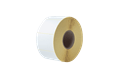 Bez pārklājuma termo pārneses baltas sagrieztas uzlīmes rullī BUS-1J074102-203