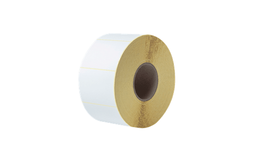 Uncoated Thermal Transfer Die-Cut White Label Roll BUS-1J074102-203