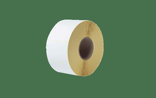 Niepowlekane białe cięte etykiety termotransferowe w rolce BUS-1J074102-203