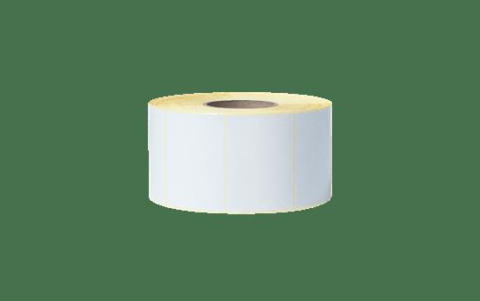 Niepowlekane białe cięte etykiety termotransferowe w rolce BUS-1J074102-203 2