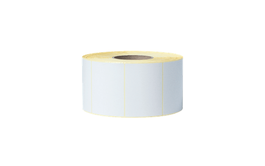 Bez pārklājuma termo pārneses baltas sagrieztas uzlīmes rullī BUS-1J074102-203 2