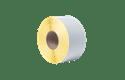 Bez pārklājuma termo pārneses baltas sagrieztas uzlīmes rullī BUS-1J074102-203 3