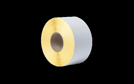 Niepowlekane białe cięte etykiety termotransferowe w rolce BUS-1J074102-203 3