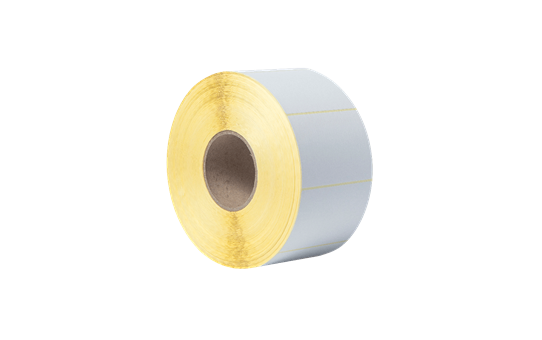 Uncoated Thermal Transfer Die-Cut White Label Roll BUS-1J074102-203 3