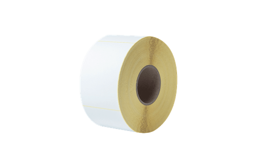 Uncoated Thermal Transfer Die-Cut White Label Roll BUS-1J150102-203