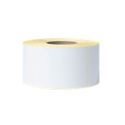 BUS1J150102203 fehér szalagtekercs átlátszó háttérrel - szemből