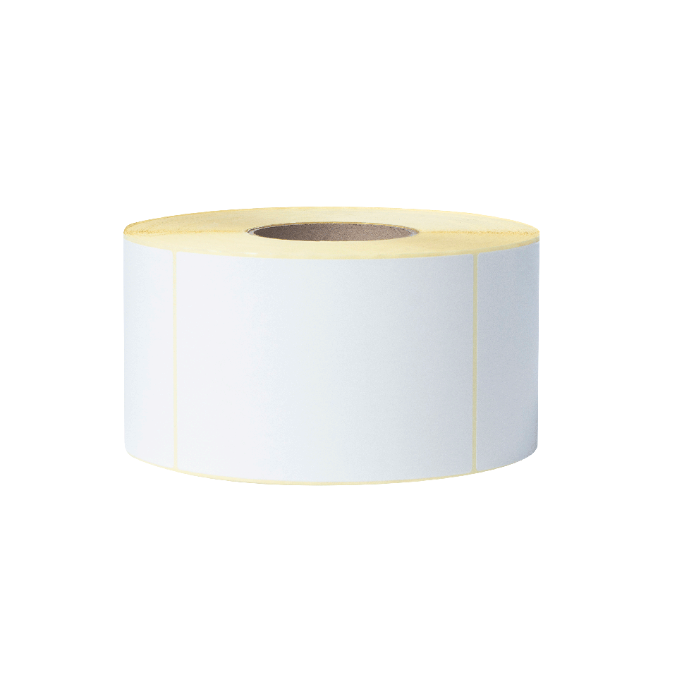 BUS1J150102203 white label roll transparent background - front