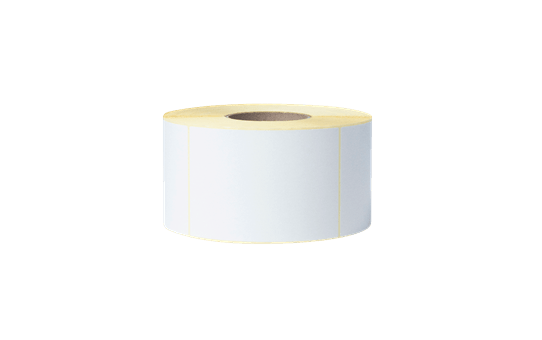 Uncoated Thermal Transfer Die-Cut White Label Roll BUS-1J150102-203 2