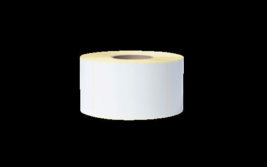 Nedengtas terminio perdavimo iš anksto suskirstytų baltų etikečių ritinėlis BUS-1J150102-203 2