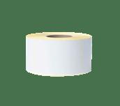 Białe niepowlekane cięte etykiety termotransferowe w rolce BUS-1J150102-203