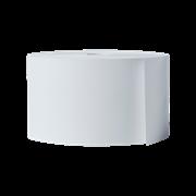 Brother BDL7J000058102 hvit kvitteringsrull i løpende lengde for direkte termisk utskriftsteknologi, 58 mm bredde x  101,6 m lengde per rull stående