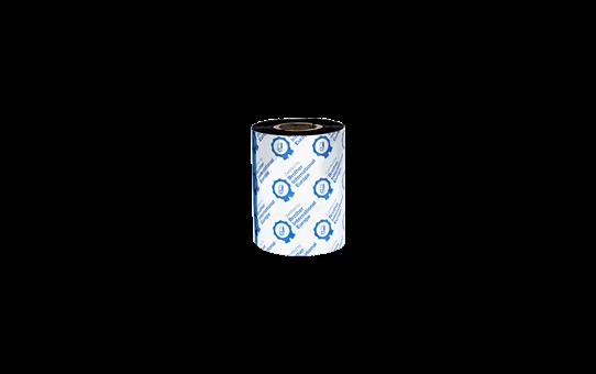 Premium sveķu termo pārneses melnas tintes lente BRP-1D300-080 3